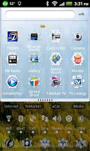 LC Snowflake Nova/Apex Theme- screenshot thumbnail