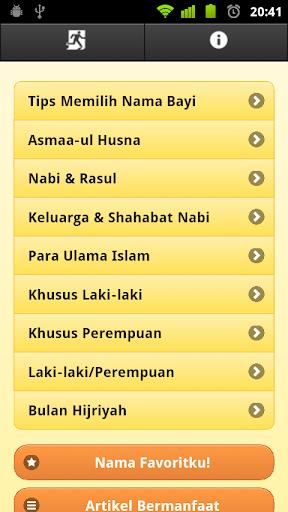 850+ Nama Bayi Islam Pilihan