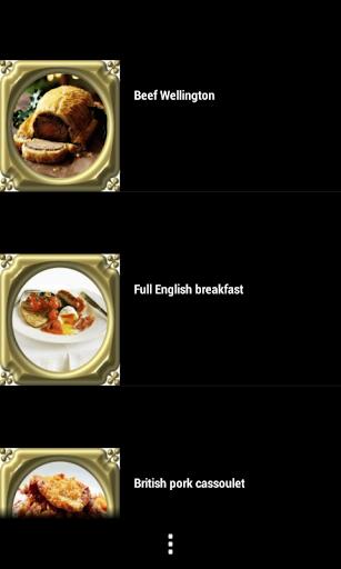 食品食譜(英)