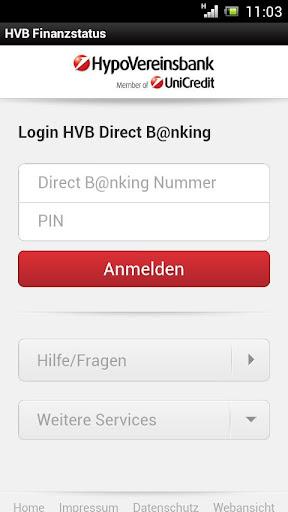 HVB Finanzstatus