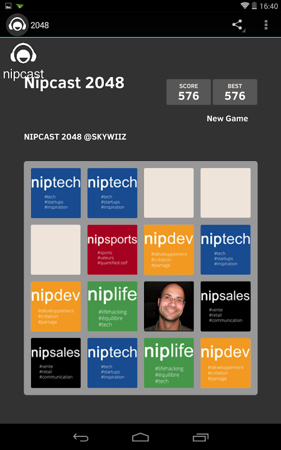 NipCast- screenshot