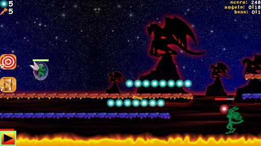 Hunter vs Demons Platform Game