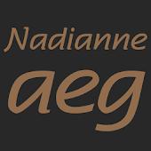 Nadianne Medium FlipFont