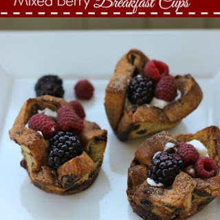 Mixed Berry Breakfast Cups.