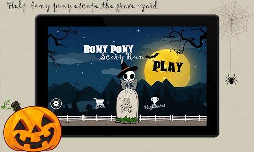 Bony Pony Scary Run