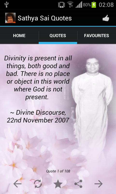 Sathya Sai Quotes 108 Gems Android Apps On Google Play