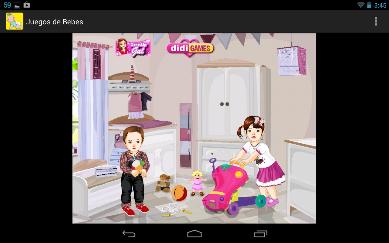 Baby care games - screenshot