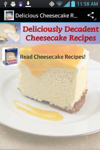 Delicious Cheesecake Recipes