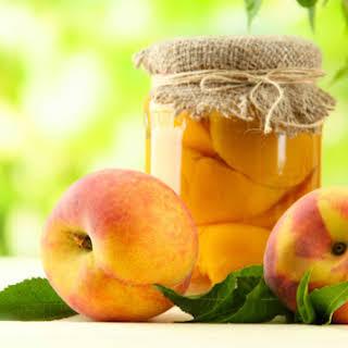 Canned Peaches With Splenda.