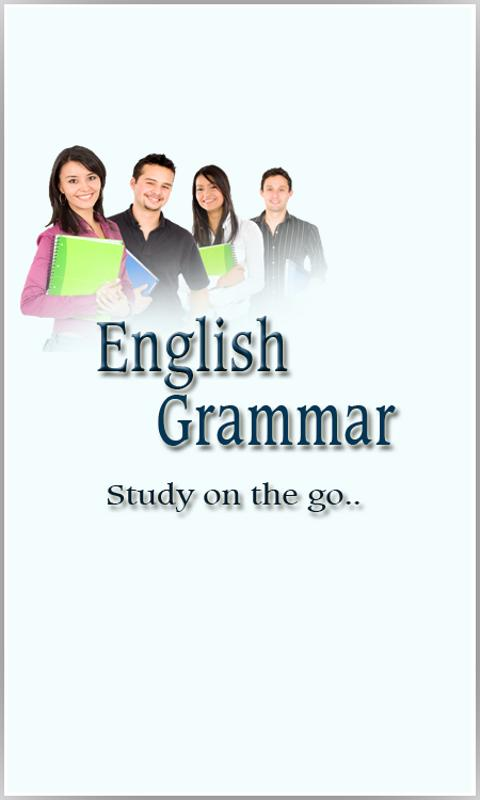 English Grammar Book - screenshot
