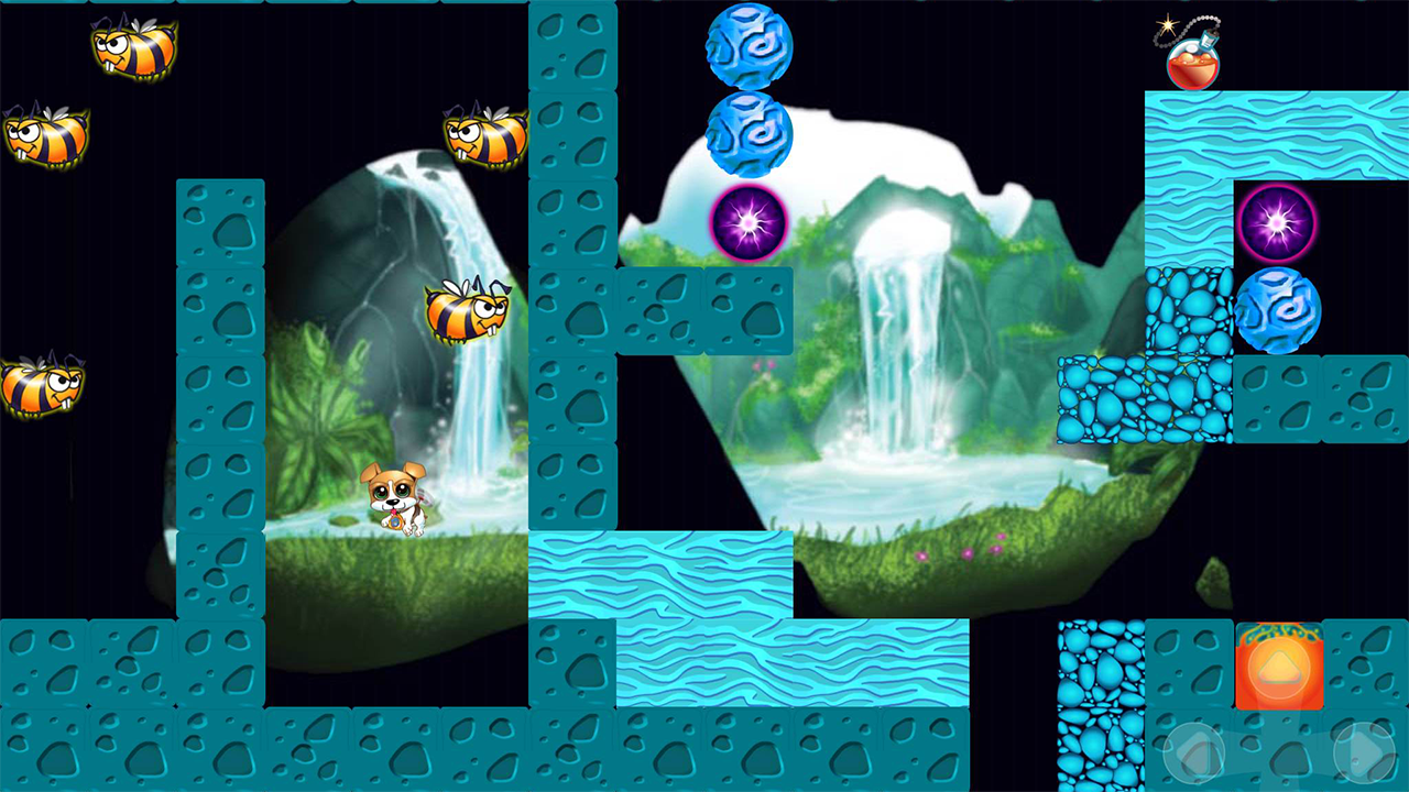 Maze Puzzle: Puppy Run FREE- screenshot