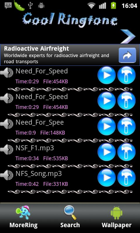Top 3D SMS Ringtone - screenshot