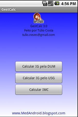 GestCalc - Idade Gestacional - screenshot