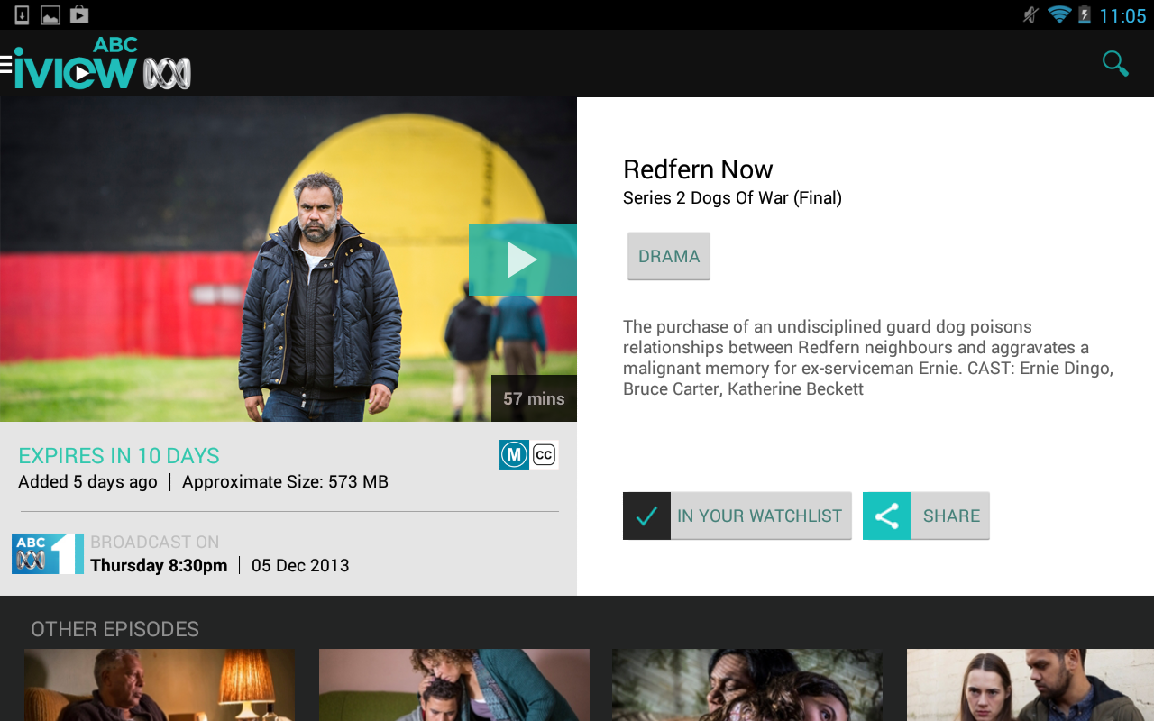 ABC iview - screenshot
