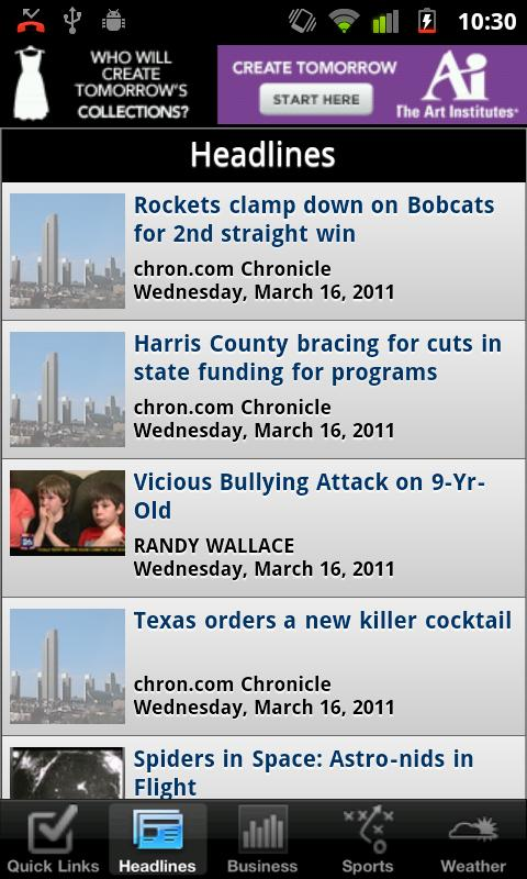Houston Local News - screenshot