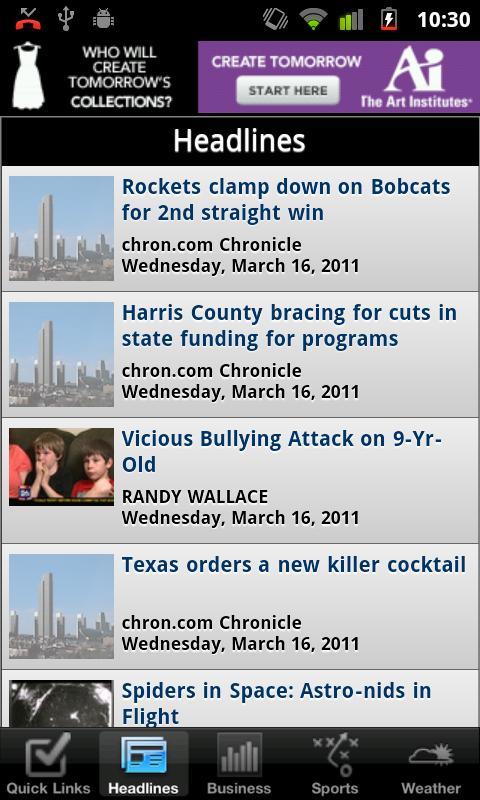 Houston Local News - screenshot