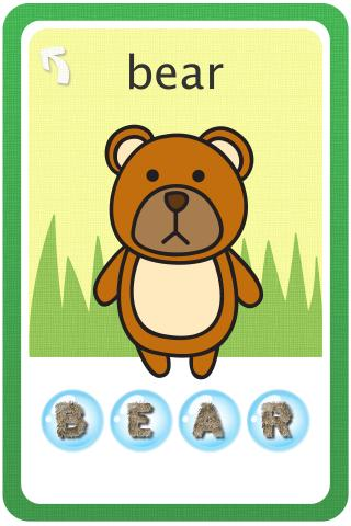 Bubble Popper:Baby Flashcards- screenshot