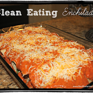 Clean Eating Enchiladas