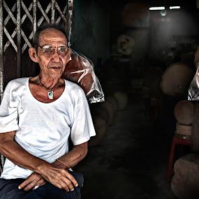 Chopboard Maker by Tim Kek - People Portraits of Men ( male, old man, people, culture, human,  )