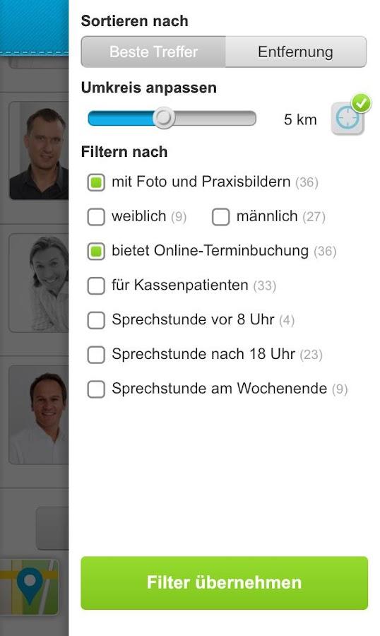 Arztsuche jameda- screenshot
