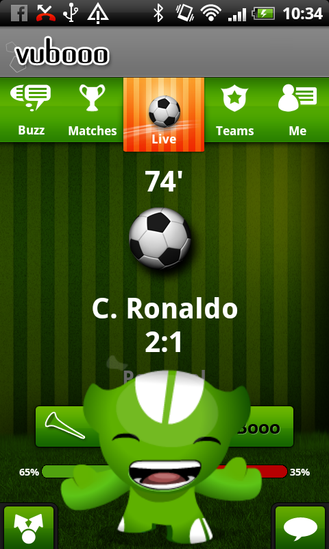 Football Live - screenshot