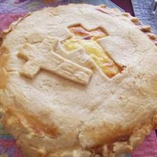Easter Meat Pie.