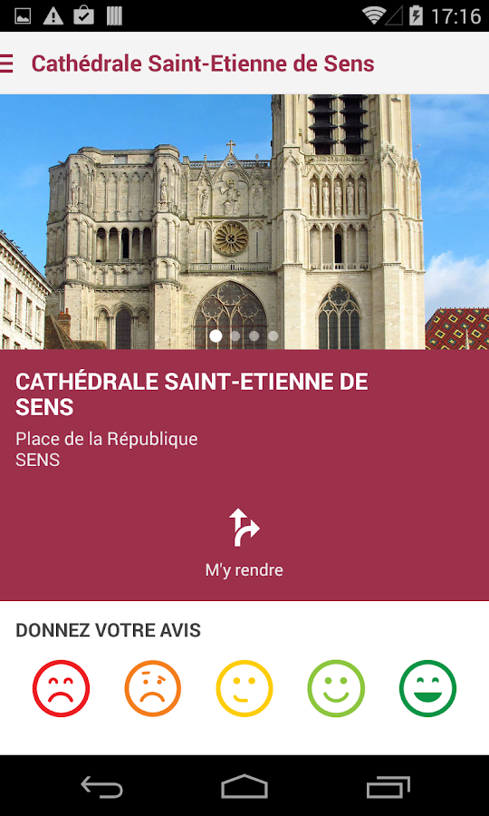 Sens Unique Tour- screenshot