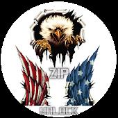 USA Flag Lock Screen APK for Bluestacks