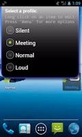 Screenshot of Simple Sound Profile Widget