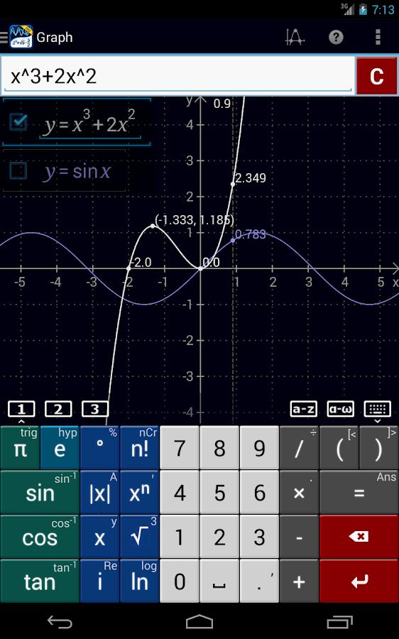 Graphing Calculator MathlabPRO - screenshot