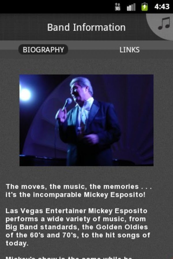 Mickey Esposito - screenshot