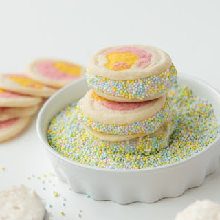 Cream Filled Easter Cookies