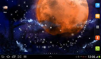 Screenshot of Moon Live Wallpaper