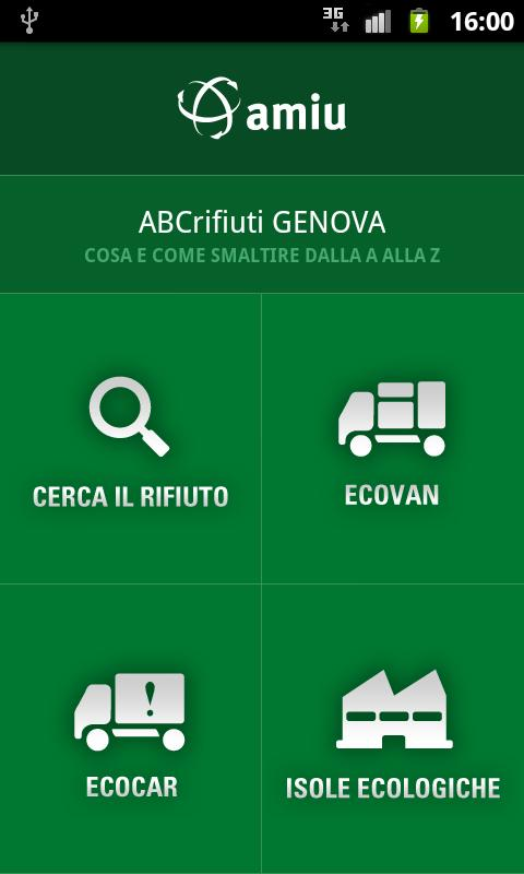ABCrifiuti Genova - screenshot