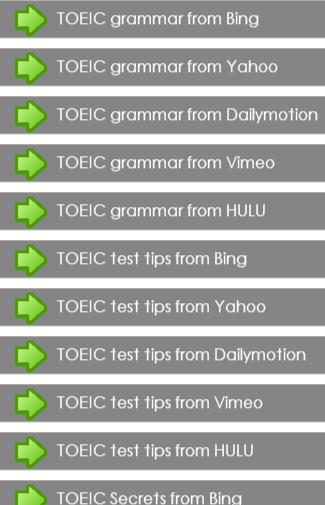 TOEIC secrets Guide