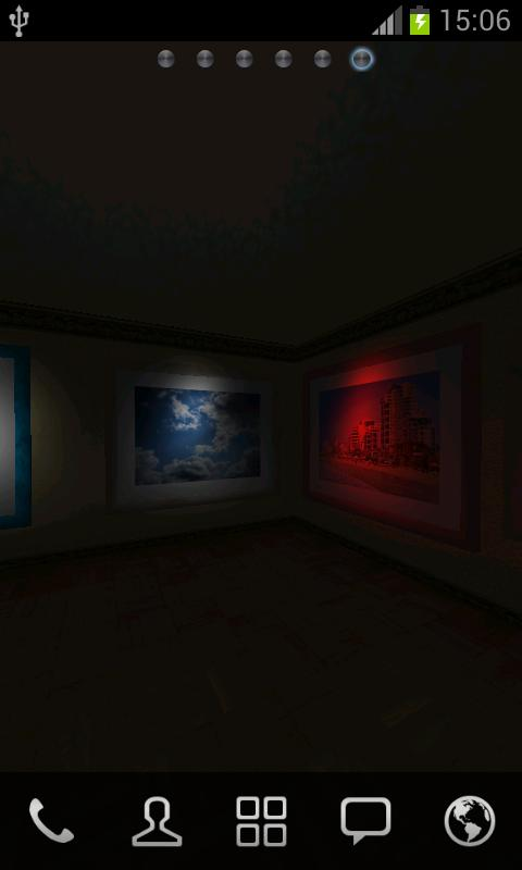 Virtual Photo Gallery 3D LWP- screenshot