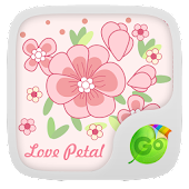 Lovepetal GO Keyboard Theme