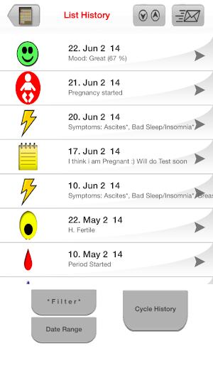 4 MyDays X - Period & Ovulation™ App screenshot