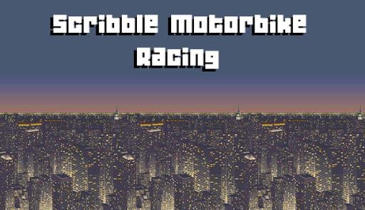 Scribble Motorbike Racing