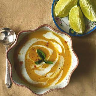 Thai Red Lentil Soup ~ Creamy Coconut Milk, Warm Spices & Lime.