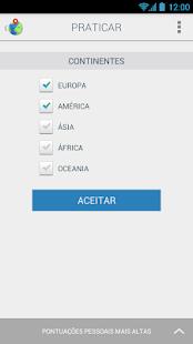 Países do mundo. Geograpy Quiz - screenshot thumbnail