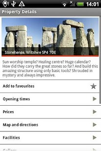 English Heritage Days Out - screenshot thumbnail