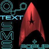 New Trek Text SMS + Popup