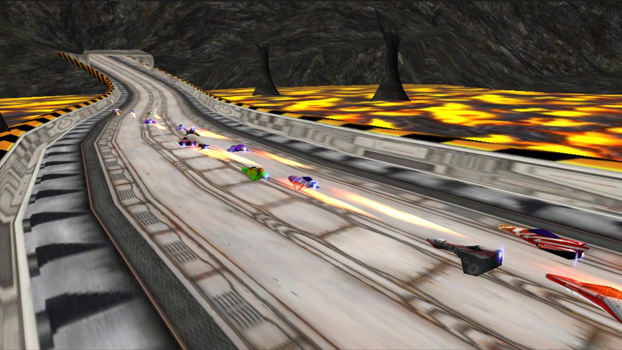 LevitOn Speed Racing Free- screenshot