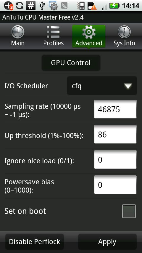 AnTuTu CPU Master (Free) - screenshot