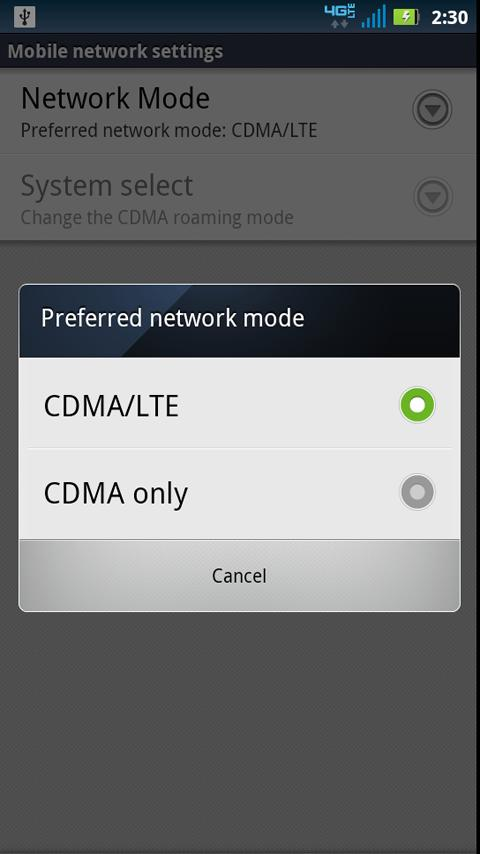 4G Toggle - screenshot