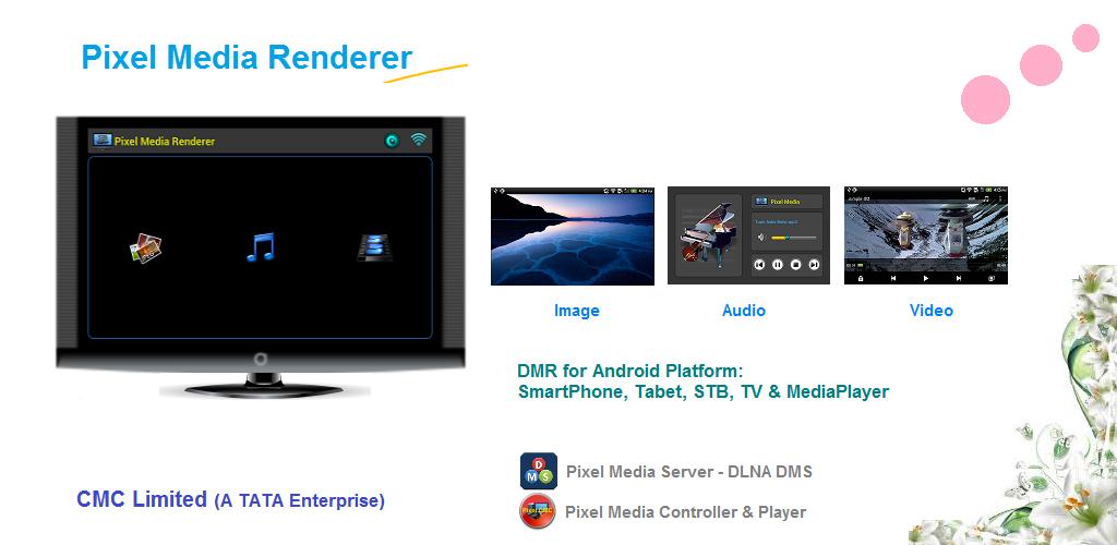 Pixel Media Renderer- DMR 1 9 Apk Download - com cmc dmr APK free