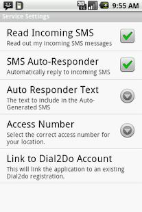 Dial2Do Hands-free Assistant - screenshot thumbnail