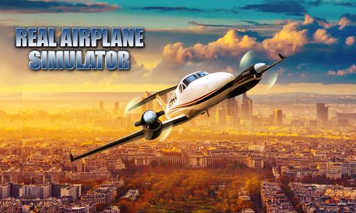 真正的飞机模拟器
