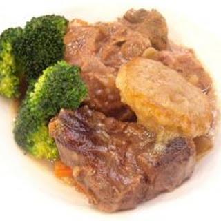 Beef In Beer With Horseradish Dumplings
